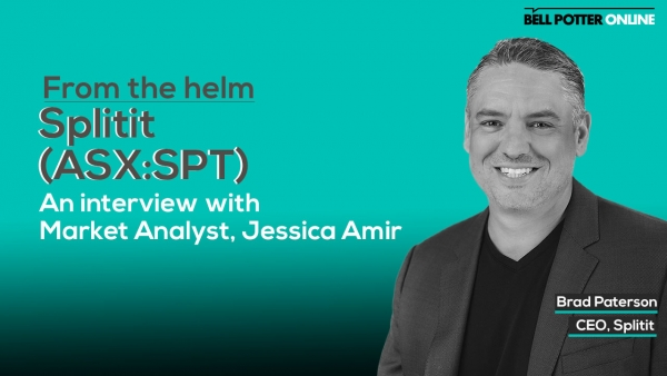 From the helm: Splitit's (ASX:SPT) CEO, Brad Paterson