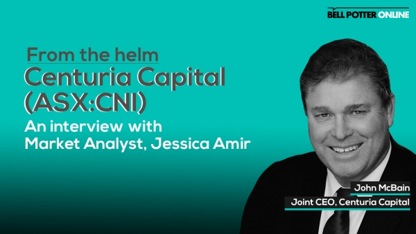 From the helm: Centuria Capital (ASX:CNI) Joint CEO, John McBain