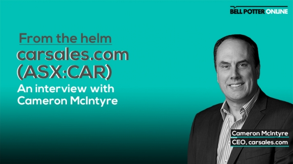 From the helm: A turbo charged interview with carsales.com (ASX:CAR) CEO, Cameron McIntyre