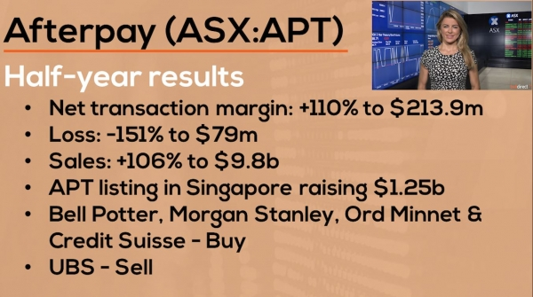 How Australia's fastest growing company reported | Afterpay (ASX:APT) Reporting Results